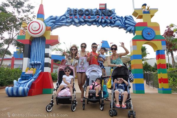 馬來西亞。投資考察玩樂園 Day2-2 樂高水樂園Water Park,中餐樂園外吃