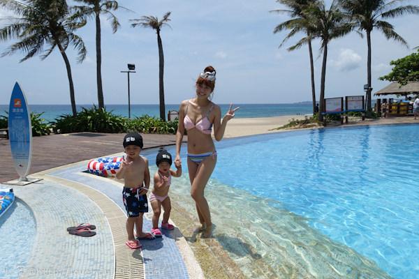 蜜30歲生日。不一樣的墾丁 Day3夏都《戴泳帽的無邊際泳池。玩沙繼續》晚餐《推薦&不推薦》