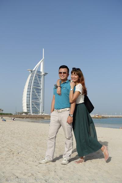杜拜+義大利。夢想之旅 Day2-1 杜拜包車導覽【帆船酒店、亞特蘭提斯酒店、運河酒店(舊市集)】→帆船飯店(Burj Al Arab) 入場參觀