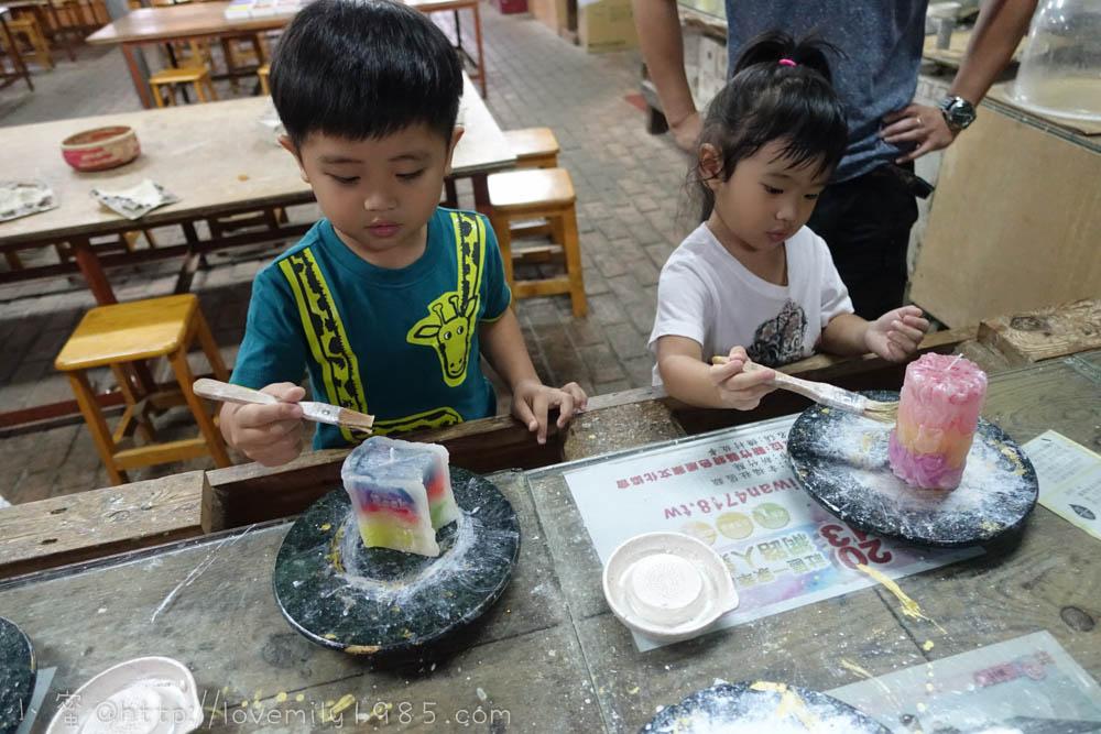 【新竹寶山。燭園】親子DIY自己動手做蠟燭,新竹雨天旅遊好備案