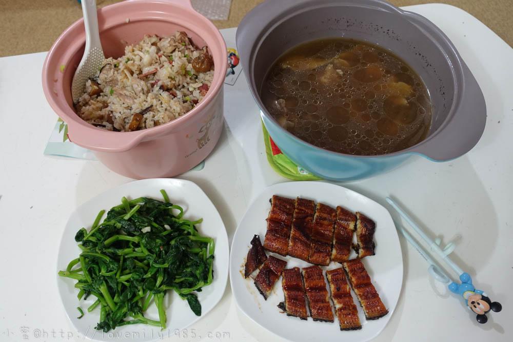 【廚房菜鳥。第一次煮飯就上手】栗子燜飯.蒜炒大豆苗.烤鰻魚.肉骨茶湯!食譜+實作
