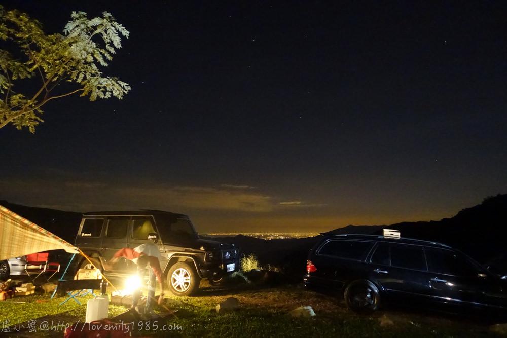 【露營】邁向真正的露營之第三露。尖石鄉森林海營地 Day1 夜衝上山,夜間爛路嚇歪人~第一次挑戰夜晚搭帳篷