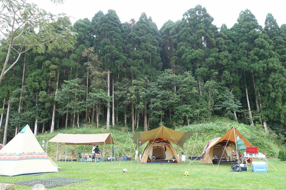 【露營】邁向真正的露營之第三露。尖石鄉森林海營地 Day2-1 睡到自然醒.Snow Peak TP622介紹.森林海營地.玫瑰區費用介紹