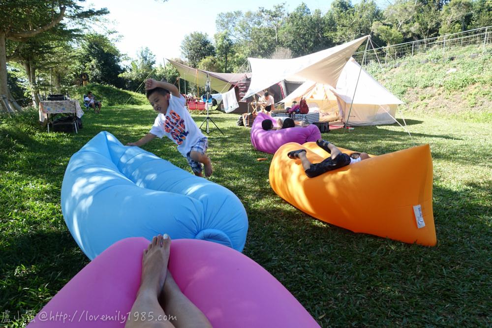 【露營】菜鳥單飛第五露。南投埔里玫花露營地 Day2-1 梅花露營區介紹。神奇的凸先生