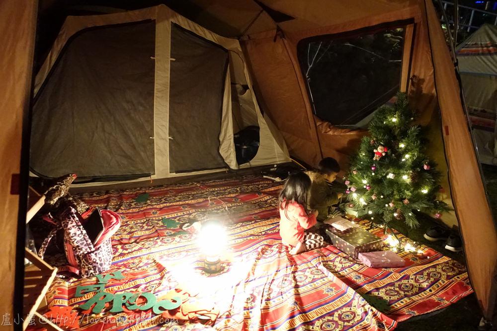 【露營】聖誕快樂硬要露第六露。苗栗鑽石林營地 Day1 很夜的夜夜衝,直接衝到天亮!租新帳SnowPeak TP670