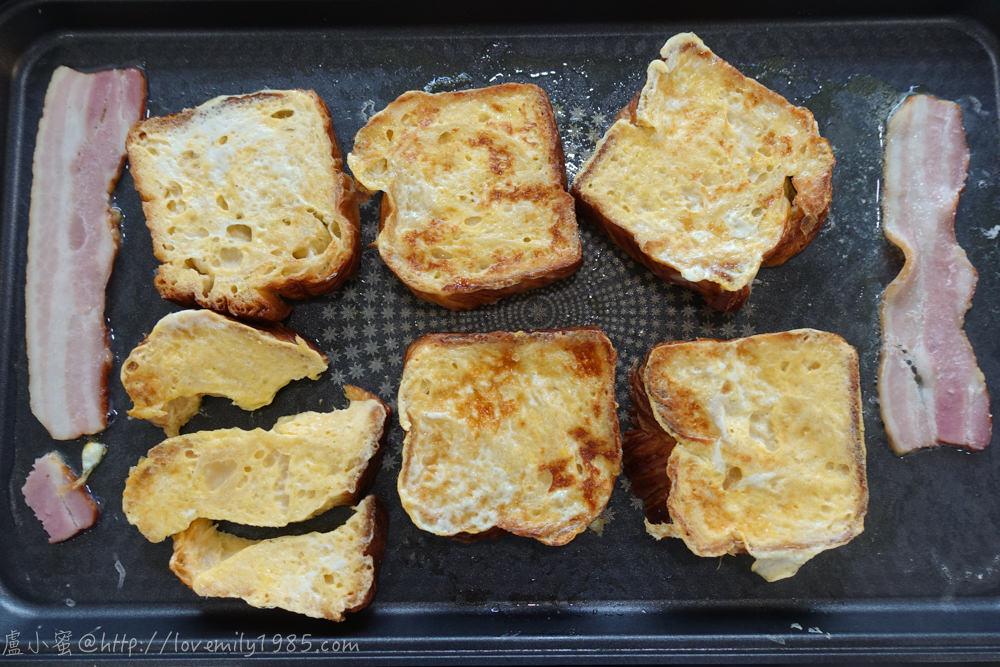 【廚房菜鳥x露營食譜】超簡單「法式吐司」,用丹麥吐司做更好吃!除了早餐也可當晚餐喔ㄎㄎ