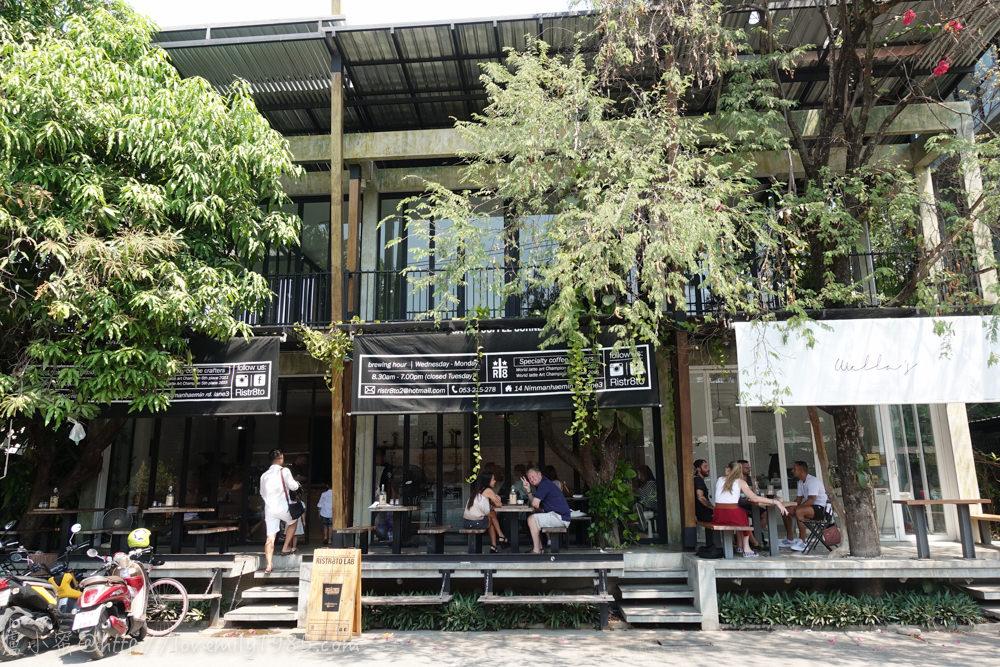 【泰國。清邁】超親近動物的親子自由行 Day5-1 雨林精品酒店游泳。清邁必去最好喝咖啡廳RISTR8TO LAB