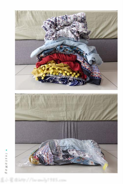 【收納好物】壽滿趣「收麻吉」日本製手捲式真空壓縮袋,徒手即可使用,換季收納/出國旅遊/國內旅遊/露營,皆可使用的聰明好物