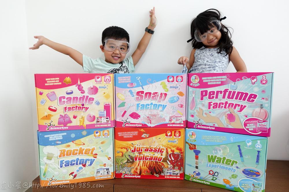 【小小科學家】英國科學實驗玩具Science4you。動手做實驗,在家「玩」科學,實踐STEAM教育