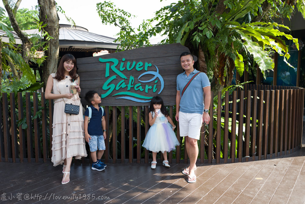 【新加坡親子遊】River Safari河川生態園,精緻度頗高,少有的河川生態值得一看,搭船看動物蠻特別有趣