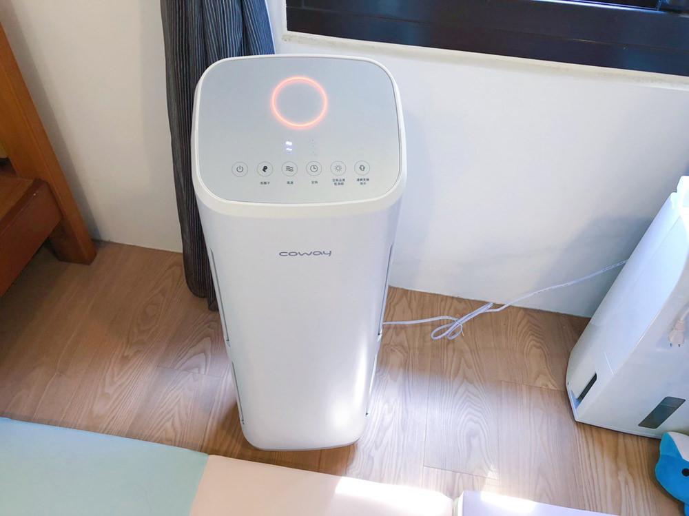 【韓國Coway空氣清淨機】家有小孩、寵物必備!小速超靜音、高速還可當電風扇XD