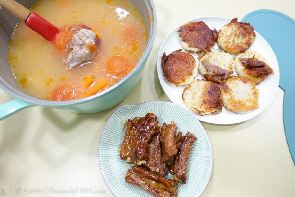 【廚房菜鳥。第一次煮飯就上手】極簡單「超入味京都排骨」「起司山藥」「番茄排骨湯」,完全無技術可言的一餐,食譜+實作