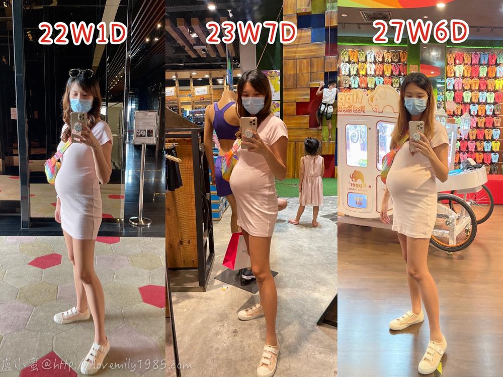 【3】:懷孕後期25W-28W:孕期好日子結束~不適症況重出江湖的第七個月