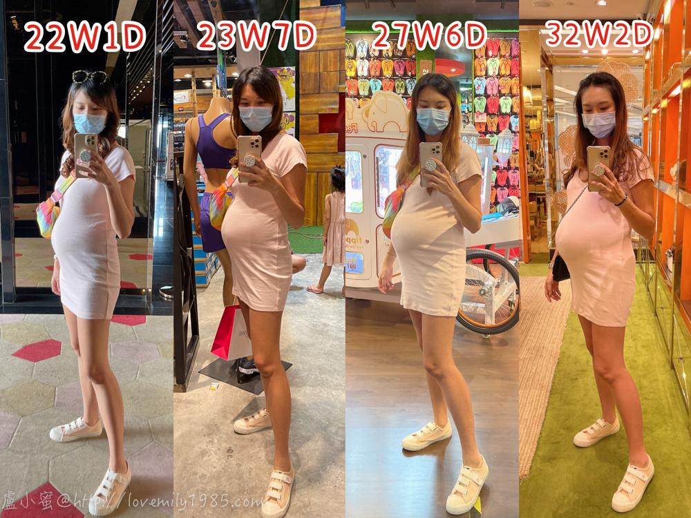 【3】:懷孕後期29W-32W:不適症狀-開始這也痛那也痛的第八個月(33W九個月2天)
