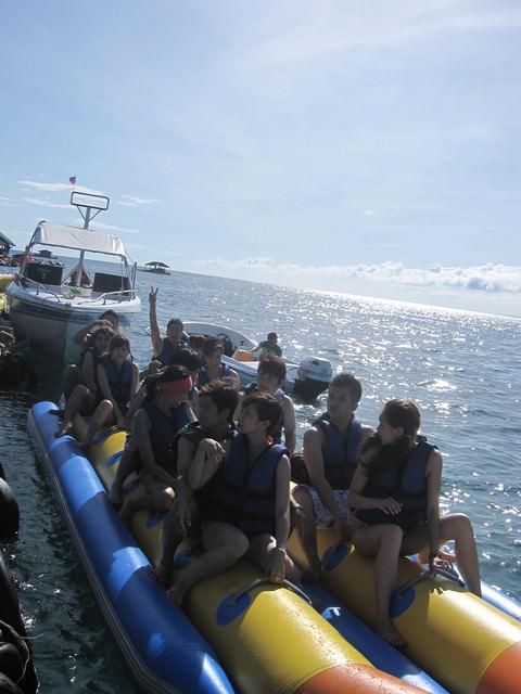 人間天堂。BoRaCay。 Day2-2 水上活動→風帆→沙灘Bar