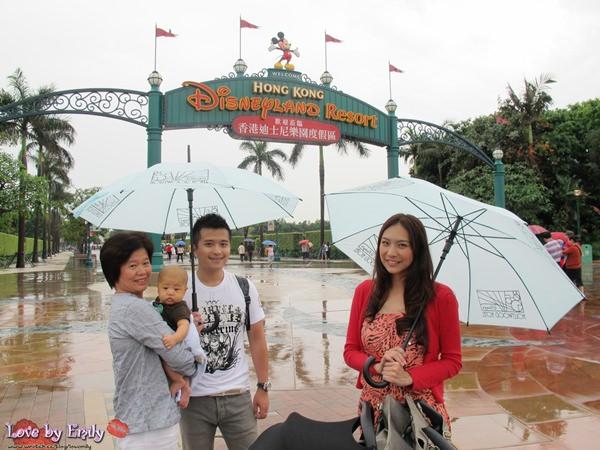 胖na出國初體驗。香港HK。 Day2-2 迪士尼樂園【雨天室內遊樂設施大全】