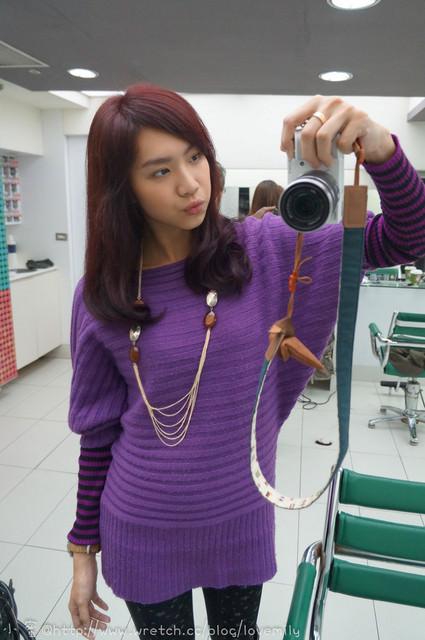 【髮型】回到少女時代!謎樣雙色染!J洗蝦咪紫?~質感阿質感!(大心)