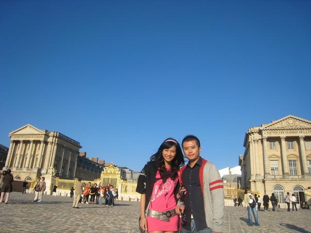 。France。 Day9 巴黎(凡爾賽宮。凱旋門。香榭里舍大道)