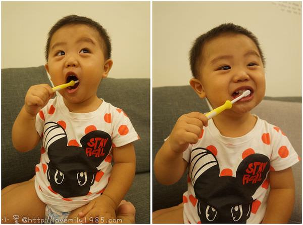 【胖na愛刷牙】從小打造一個愛刷牙的寶寶!目前使用過的牙刷小分享!