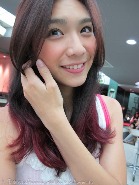 【髮型】質感輕熟女!深紅咖MIX正紅正紫