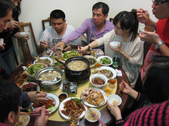 最後一年在家裡的CNY 除夕初一初二 好感傷唷 :(