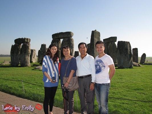 夢想實踐。英國UK。家庭遊 Day7-1 史前巨石群→牛津大學城