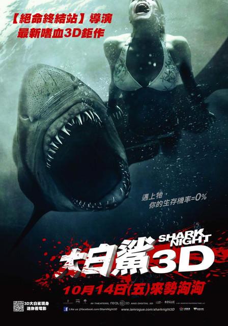 大白鯊3D Shark Night 3D (有內容喔)
