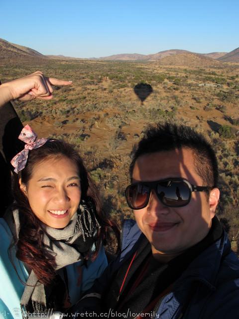 旅遊新地圖。South Africa。 Day8-2 畢藍斯堡野生動物園【熱氣球野生動物巡禮Air Safari】